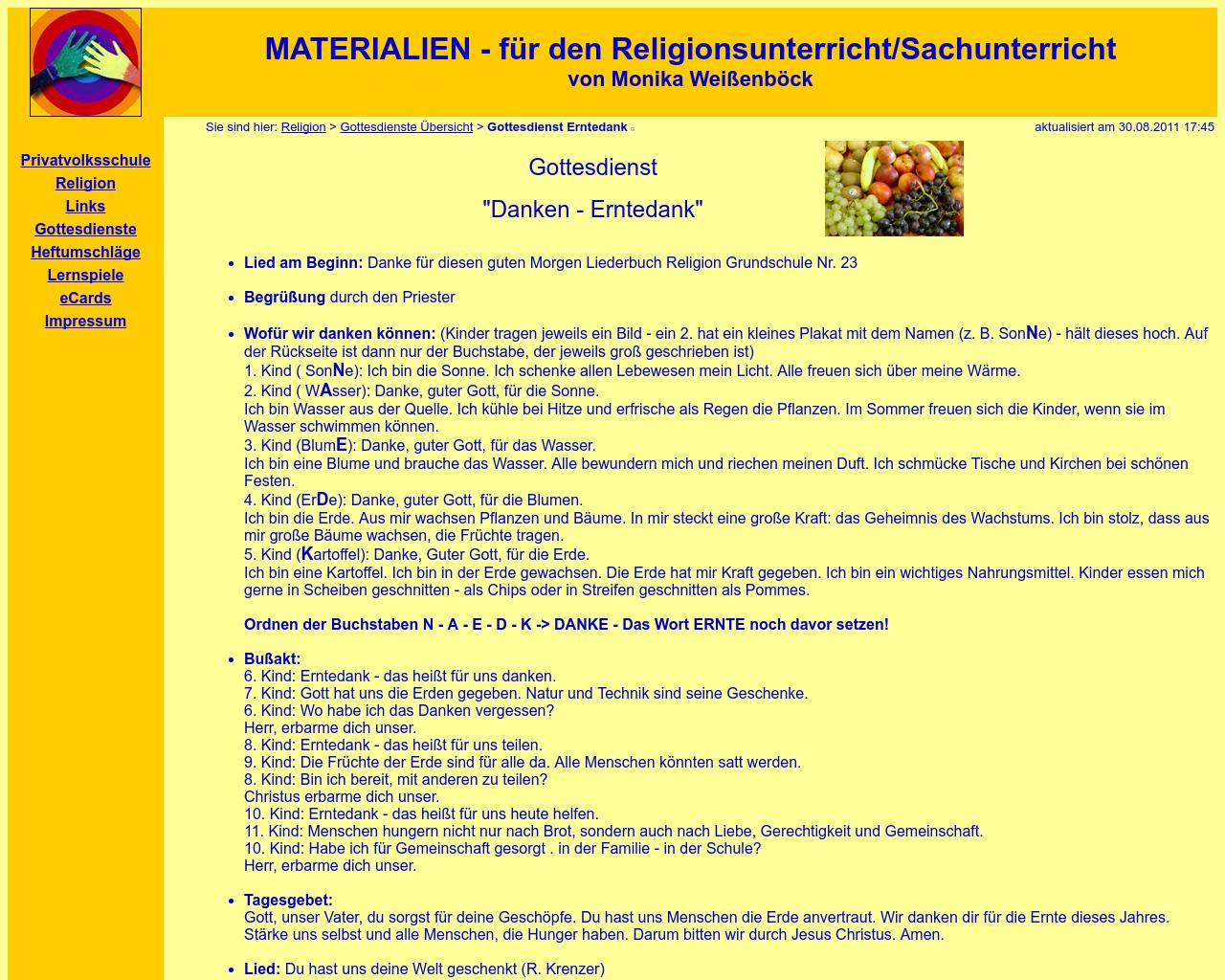 Gottesdienstablauf Messdiener Beckingen In 5