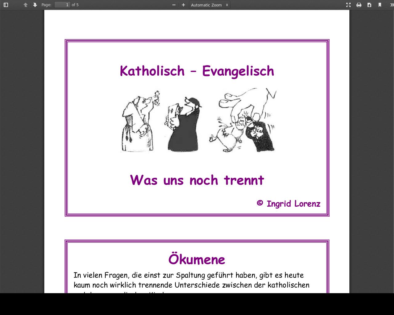 Konvertieren Von Katholisch Zu Evangelisch