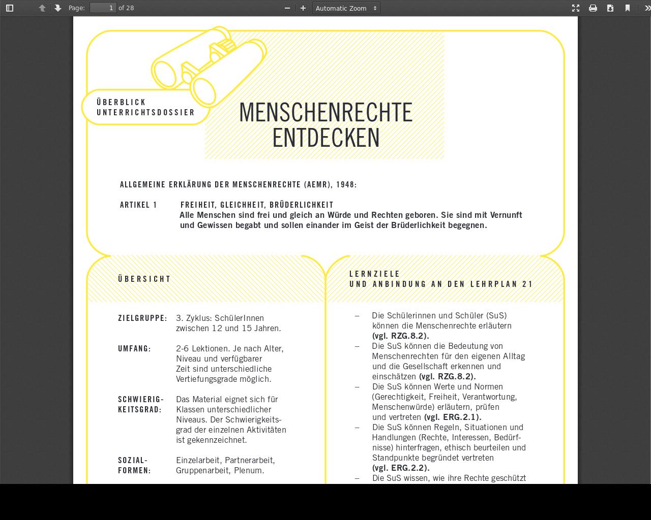 Arbeitsblatt | Evangelischer Bildungsserver