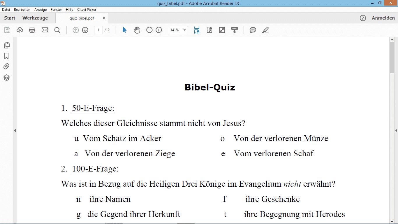 bibelquiz
